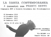 STAGE - LA DANZA CONTEMPORANEA